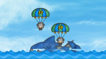 Screenshot - Save The Army From Blue Shark